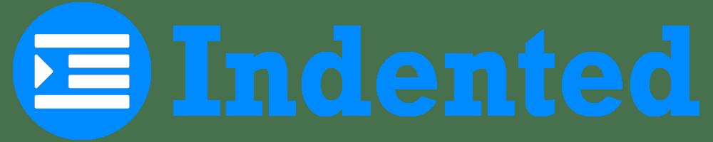 Indented Logo